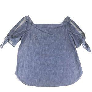 Lauren Ralph Lauren Off-the-Shoulder Top Size XL